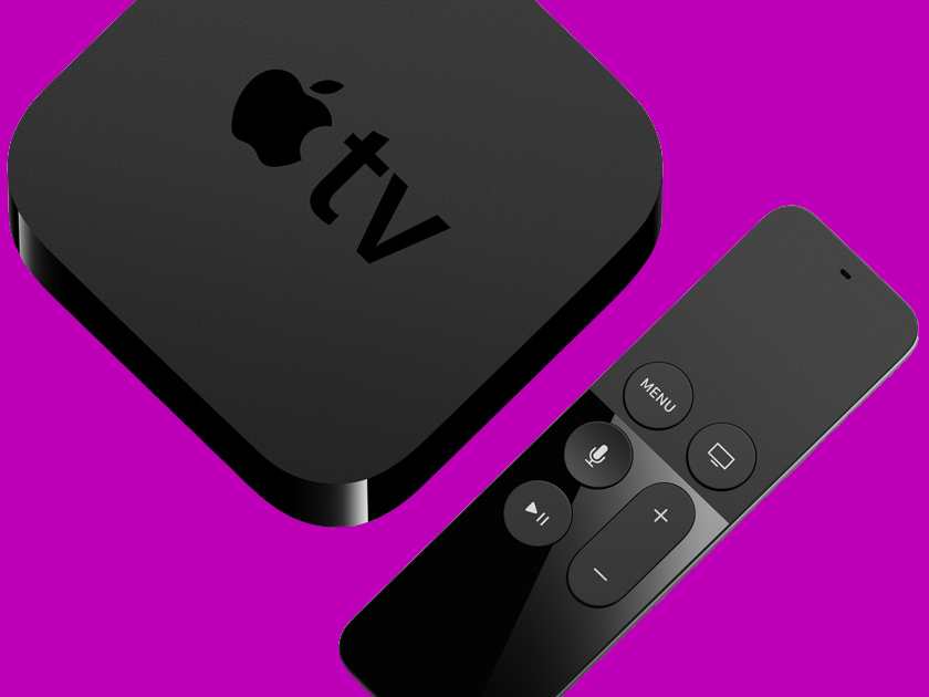 A 4K Apple TV