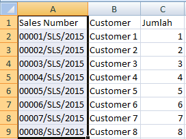 fungsi text to column pada excel