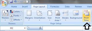 Print Judul Berulang Di Excel