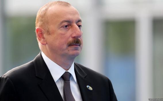 Aliev Tweeted on Karabakh Conflict
