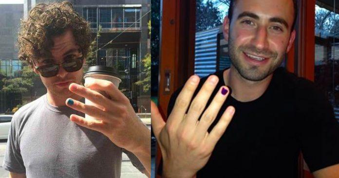 Если вы видите мужчину с накрашенным пальцем, вот смысл, который скрывается за этим!