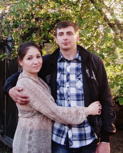Дочь Анастасия с мужем