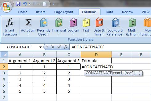 cara menggunakan rumus formula di excel