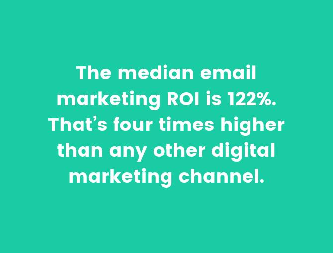 email marketing lista segmentada ROI
