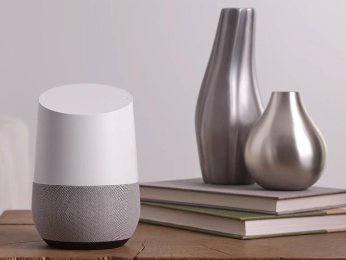 A Siri smart speaker