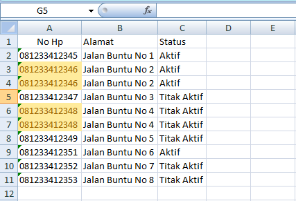 tutorial cara menghapus duplikat data dengan data tools